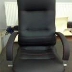 Skórzany fotel biurowy Nowy Styl