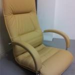 Skórzany fotel Lumina Nowy Styl Group