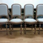 Zestaw krzeseł stylowych